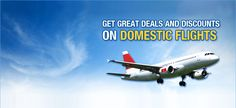 Find the best deals and offers on domestic and international flights. Keep traveling!