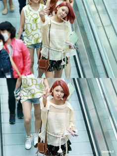 Snsd Sooyoung airport fashion style