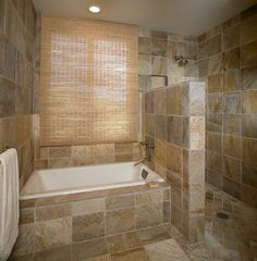 Traditional Master Bathroom with casual comfortable