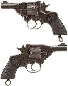 revolver webley mk iv pocket model