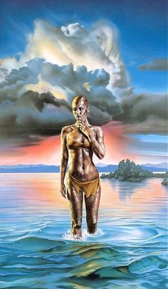 Art by Barclay Shaw - eurydice