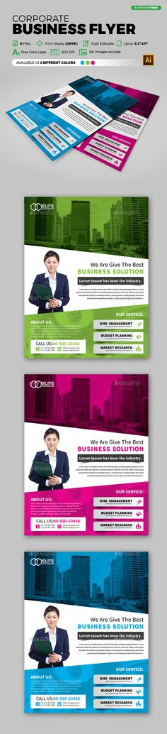 House Cleaning Flyer Templates Flyer design templates, Flyer - corporate flyer template