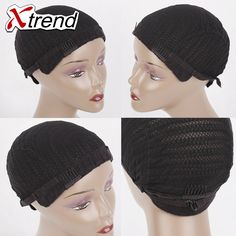 Cheap wig cap, Buy Quality cornrow wig cap directly from China cap wig Suppliers: best quality black Cornrow Wig Caps Easier Sew In Hair Adjustable Strap elastic glueless caps For Hair Braiding Xtrend Black Wig, Wig Making, Wig Cap, Crochet Braids, Cornrows, Hair Tools, Braided Hairstyles, Hair Extensions, Hair Care