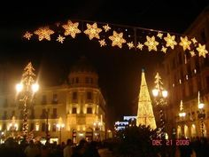 Madrid Christmas lights- Miss you so much!