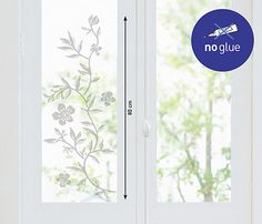 Vinilo floral RAMA GRIS - Leroy Merlin Merlin, Decoration, Floral, Stickers, Windows, Grey Colors, Decoration Home, 50 Grey Of Shades, Fifty Shades Of Grey