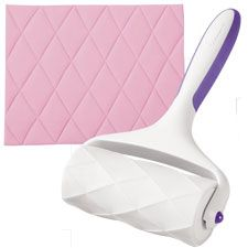Shop online for Wilton Fondant Pattern Embosser - Quilt at Golda's Kitchen; the leading Canadian on-line shopping site for quality bakeware, cookware, and cake decorating supplies. Wilton Cake Decorating, Cake Decorating Supplies, Cake Decorating Techniques, Wilton Tools, Fondant Tools, Wilton Fondant, Wilton Cakes, Cupcakes, Cupcake Cakes