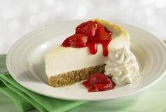 Recipe for basic low-carb cheesecake, with link to strawberry topping and other low-carb cheesecakes.