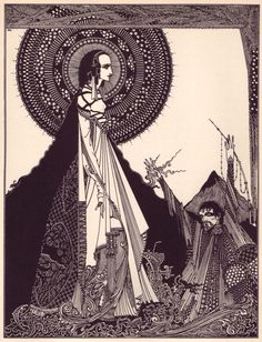 Harry Clarke's Haunting 1919 Illustrations for Edgar Allan Poe's Tales of Mystery and Imagination – Brain Pickings