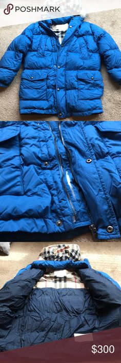 Burberry Coat Burberry light puffer coat ( rip on inside of zipper part not visible unless zipper is down . As shown in pictures Burberry Jackets & Coats Puffers