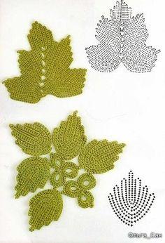 graficos de croche flor - Pesquisa Google