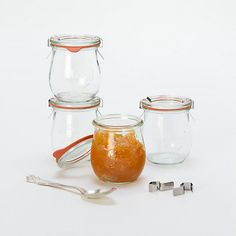7.4 oz Weck Jar Set..great jelly jars to use again and again!