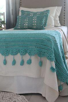 Crochet Shrug Pattern, Crochet Quilt, Crochet Stitches Patterns, Love Crochet, Diy Crochet, Crochet Baby, Crochet Girls, Crochet Home Decor, Crochet Projects