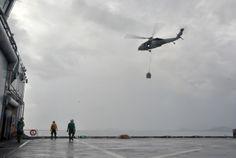 Humanitarian operation, Typhoon Yolanda / Haiyan in the Philippines.