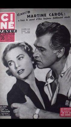 Grace Kelly covers Cine Revue magazine No: 33 -1955