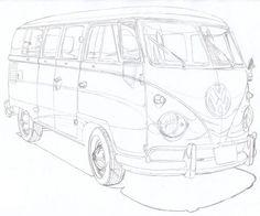 36 best car illustrations images car illustration cars drawings 1970 Pontiac Trans AM Back split window bus pen drawing