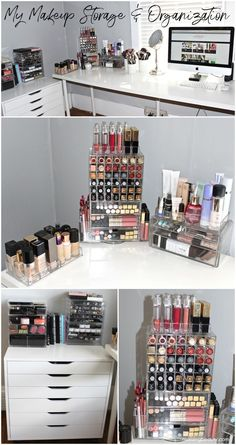 My Makeup Storage and Organization & 6 Makeup Organization Ideas That Will Solve Every Girls Problem ...