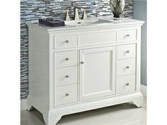 Bella 42 Single Bathroom Vanity Set Thornton Pinterest Vanities And