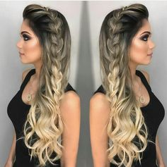 Ultimate Guide: 35 Beautiful Braided Wedding Hairstyle Ideas Ultimate Guide: 35 Ultimate Guide: 35 Beautiful Braided Wedding Hairstyle Ideas Ultimate Guide: 35 Beautiful Braided Wedding Hairstyle Ideas Source by Box Braids Hairstyles, Hairstyles For School, Wedding Hairstyles, Cool Hairstyles, Hairstyle Ideas, Party Hairstyles For Long Hair, Hairstyles Pictures, Creative Hairstyles, Indian Hairstyles