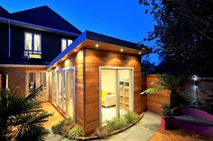 Shomera are the number 1 provider of House Extensions in Ireland. Having completed over 400 House Extensions, Shomera design, plan and build your extension. Wooden Cladding, House Design, House, House Extensions, Flat Roof Extension, House Styles, House Extension Ireland, House Designs Exterior, My House