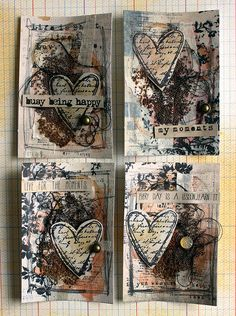 Riikka Kovasin - Paperiliitin: Magical Tea ATC, take 2 - Artists Live