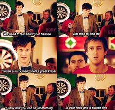 Eleven and Rory. Doctor Who.