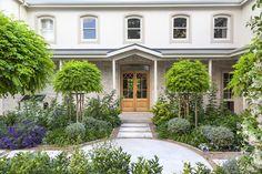 Designer: Tirzah Stubbs Style: Classical Garden Type: Private Garden Garden Types, Private Garden, South Africa, Sidewalk, Gardens, Mansions, House Styles, Design, Manor Houses