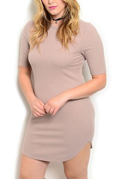 DHStyles Women's Tan Plus Size Sexy Sheer Cable Knit Mini Sweater Date Dress - 2X Plus #sexytops #clubclothes #sexydresses #fashionablesexydress #sexyshirts #sexyclothes #cocktaildresses #clubwear #cheapsexydresses #clubdresses #cheaptops #partytops #partydress #haltertops #cocktaildresses #partydresses #minidress #nightclubclothes #hotfashion #juniorsclothing #cocktaildress #glamclothing #sexytop #womensclothes #clubbingclothes #juniorsclothes #juniorclothes #trendyclothing #minidresses…