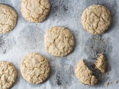 Christina Tosi's Oatmeal Cookies | According to Christina Tosi, these are the cookies that made her decided to be a baker. They're rolled in confectioner's sugar, which gives an otherwise super-chewy cookie a little bit of crackle.