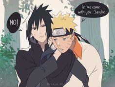 Sasuke X Naruto, Naruto Cute, Naruto Shippuden Anime, Anime Naruto, Sasunaru, Narusasu, Boruto, Couple, Ova