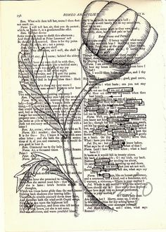 A+Simple+Choice++Original+Art+Found+Poetry+by+nzjo+on+Etsy,+$85.00