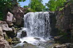 Winnewissa Falls in Pipestone National Monument, MN.