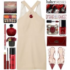 Shoulder Show:Halter Dresses