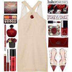 Shoulder Show:Halter Dresses