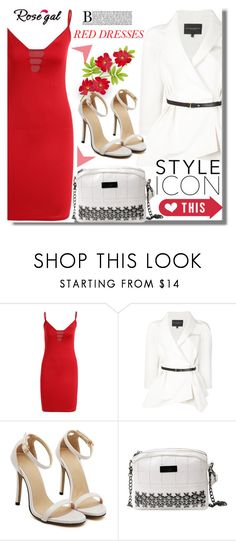 """""""Rosegal 18"""" by edita-n ❤ liked on Polyvore featuring Carolina Herrera and rosegal"""