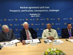 In an online question and answer session, the issue of the Iran nuclear agreement was discussed. The panel, moderated by R. Bruce McColm, President of the Institute for Democratic Strategies, included Ambassador Robert G. Joseph, Ph.D, former US U...