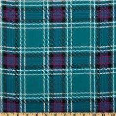 Crepe Georgette Plaid Teal/Purple Future Library, Scottish Clans, Plaid Fabric, Fashion Fabric, Black Plaid, Some Pictures, Tartan, Brave, Red And White