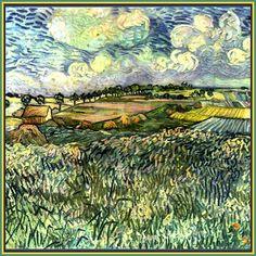 Van Gogh Pastoral Shower Curtain