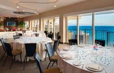 Hilton Waikiki Beach - Hawaii Venues - Vast beach views for a formal indoor wedding reception