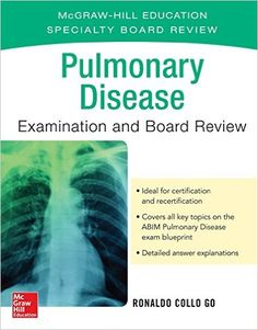 Pulmonary Disease Examination and Board Review 1st Edition Pdf Download