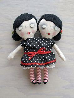 Lulu & Lola by charlotte & stewart, via Flickr