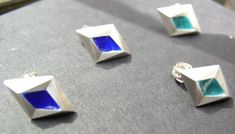 EarringsJK, cubist inspired