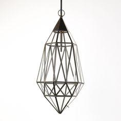 Arzola Diamond Cage Lamp
