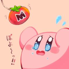 Aw no, give poor Kirby his tomato