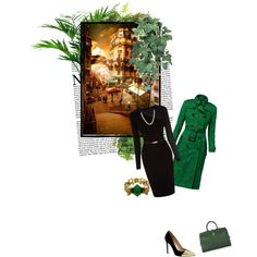 """emerald evening"" by jules7777 on Polyvore"