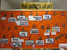 word wall.... add words as they come up during the year...do this with literary terms?