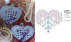 Crochet Hearts + Diagrams ergahandmade: Crochet Hearts + Diagrams Learn the basics of how to crochet Filet Crochet, Crochet Motifs, Crochet Diagram, Crochet Chart, Thread Crochet, Crochet Stitches, Crochet Patterns, Easy Crochet, Crochet Ideas