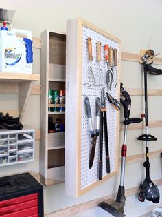 French cleat storage