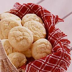 """Amish Sugar Cookies Recipe ~ These easy-to-make cookies simply melt in your mouth! I've passed the recipe around to many friends. After I gave the recipe to my sister, she entered the cookies in a local fair and won the """"best of show"""" prize! Amish Sugar Cookies, Drop Sugar Cookies, Best Sugar Cookie Recipe, Yummy Cookies, Kiss Cookies, Cookie Desserts, Just Desserts, Cookie Recipes, Delicious Desserts"""