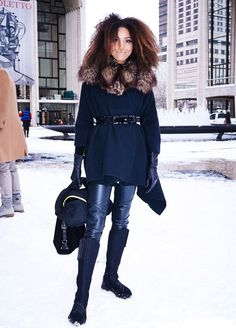 2013 fashion week streets styles -