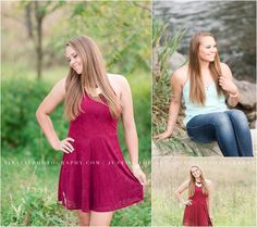 A gorgeous fall senior portrait session at Messiah College. Photographed by Mechanicsburg senior photographer, Tina Jay Photography.